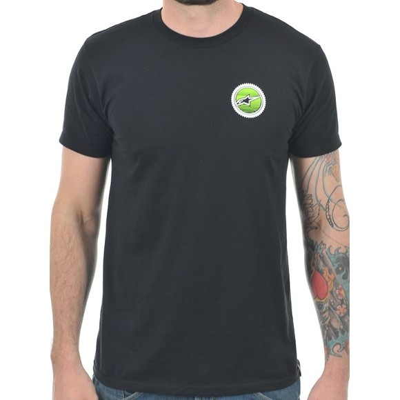 Camiseta Alpinestars Branch Black  - Super Bike - Loja Oficial Alpinestars