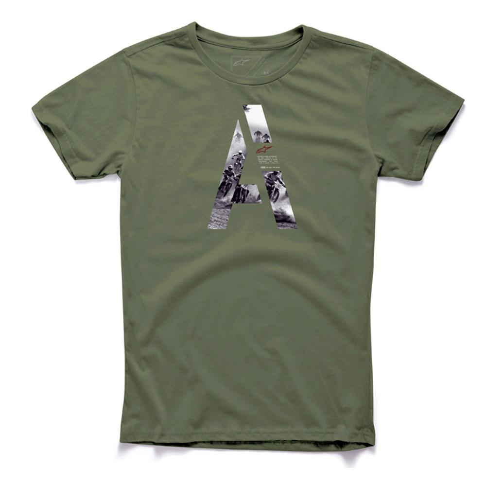 Camiseta Alpinestars Capita (Verde)  - Super Bike - Loja Oficial Alpinestars