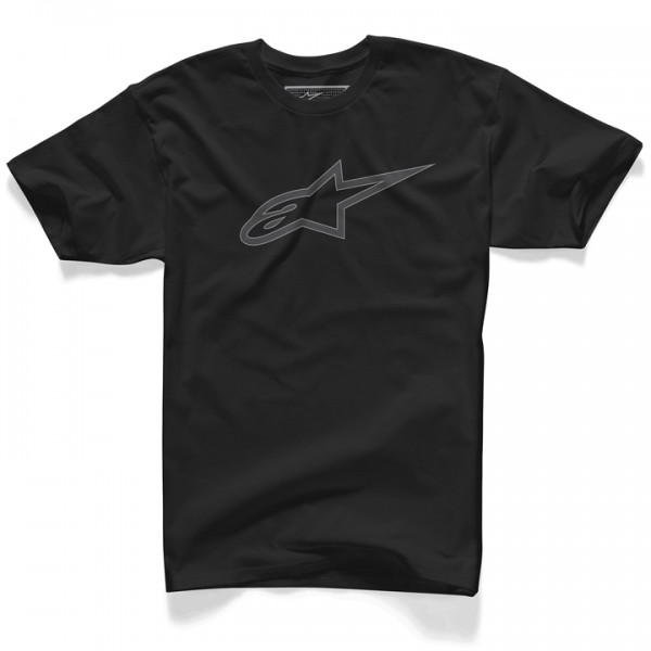 Camiseta Alpinestars Carbon Ageless (Black)  - Super Bike - Loja Oficial Alpinestars