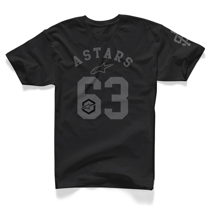 Camiseta Alpinestars Dark Star (Black)  - Super Bike - Loja Oficial Alpinestars