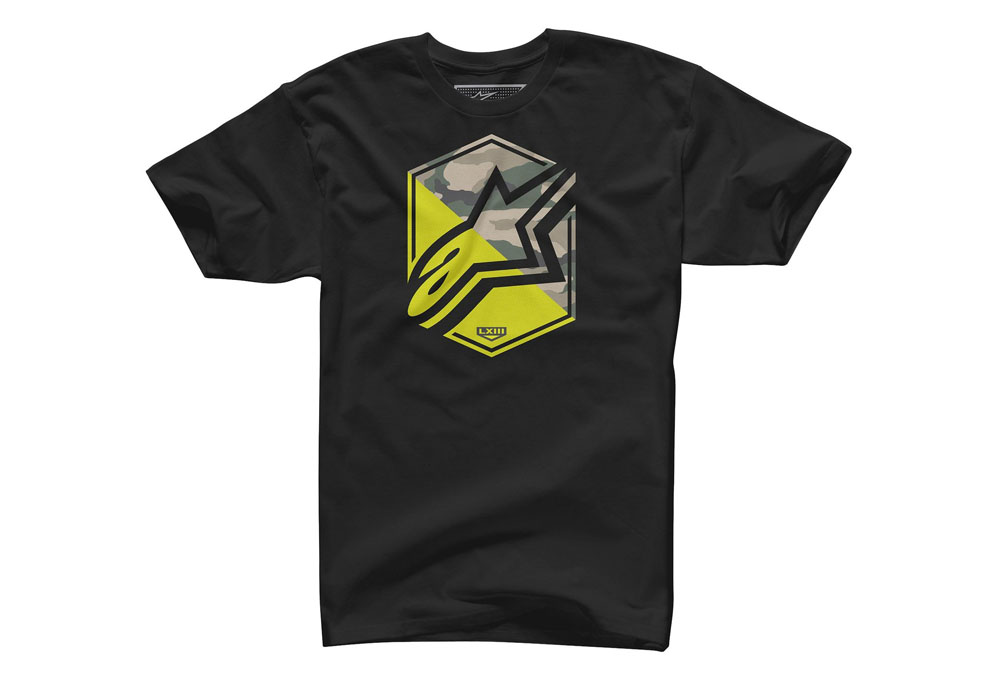 Camiseta Alpinestars Disruption (Black) - Super Bike - Loja Oficial Alpinestars