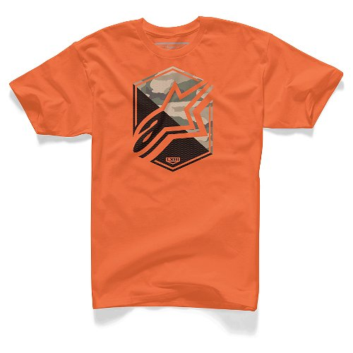 Camiseta Alpinestars Disruption (Orange) - Super Bike - Loja Oficial Alpinestars