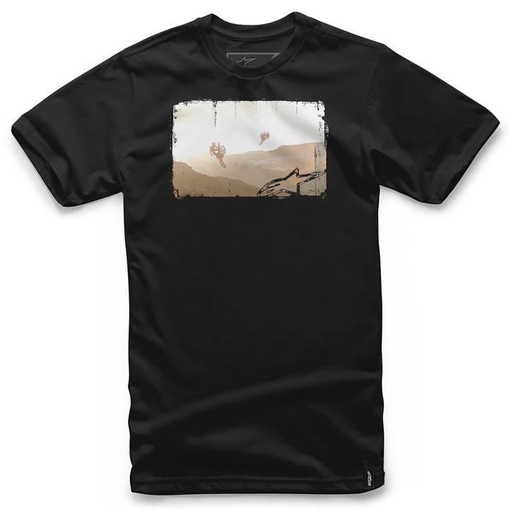 Camiseta Alpinestars Dreamtime Tee (Black) Lançamento 2016  - Super Bike - Loja Oficial Alpinestars