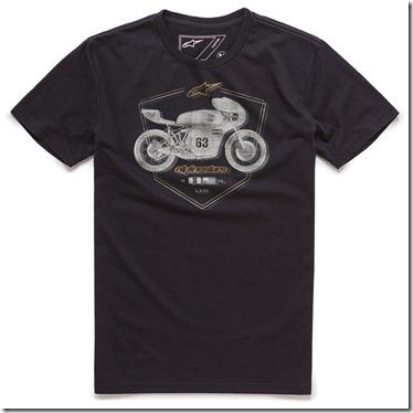 Camiseta Alpinestars Etch Tee Black Lançamento!! (limitado)  - Super Bike - Loja Oficial Alpinestars