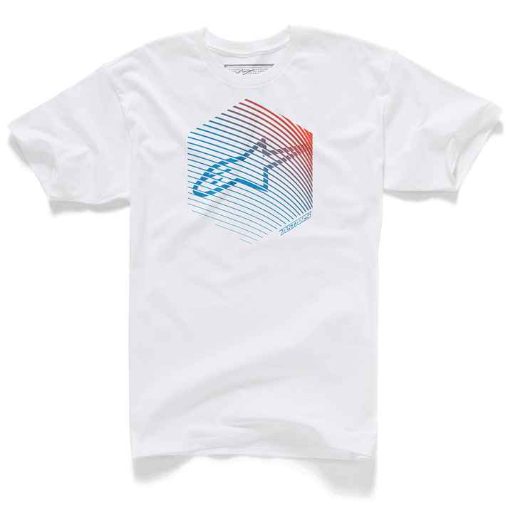 Camiseta Alpinestars Fins Branco Lançamento!!  - Super Bike - Loja Oficial Alpinestars
