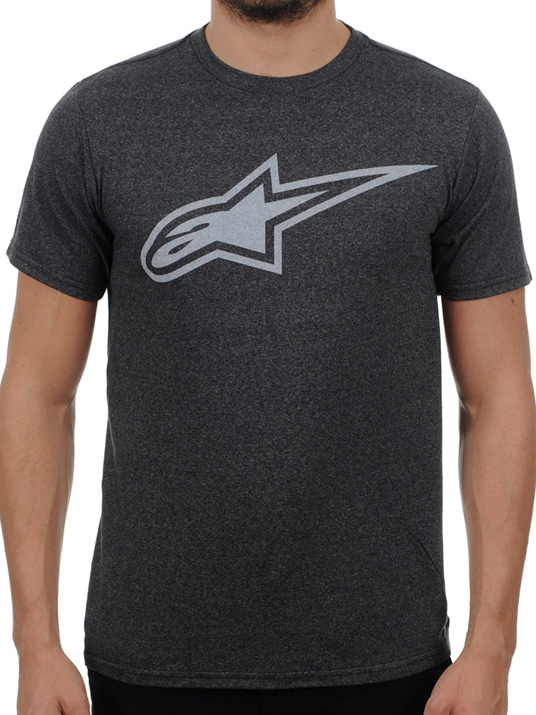 Camiseta Alpinestars Inverse Astar Custom (Gray/White)  - Super Bike - Loja Oficial Alpinestars