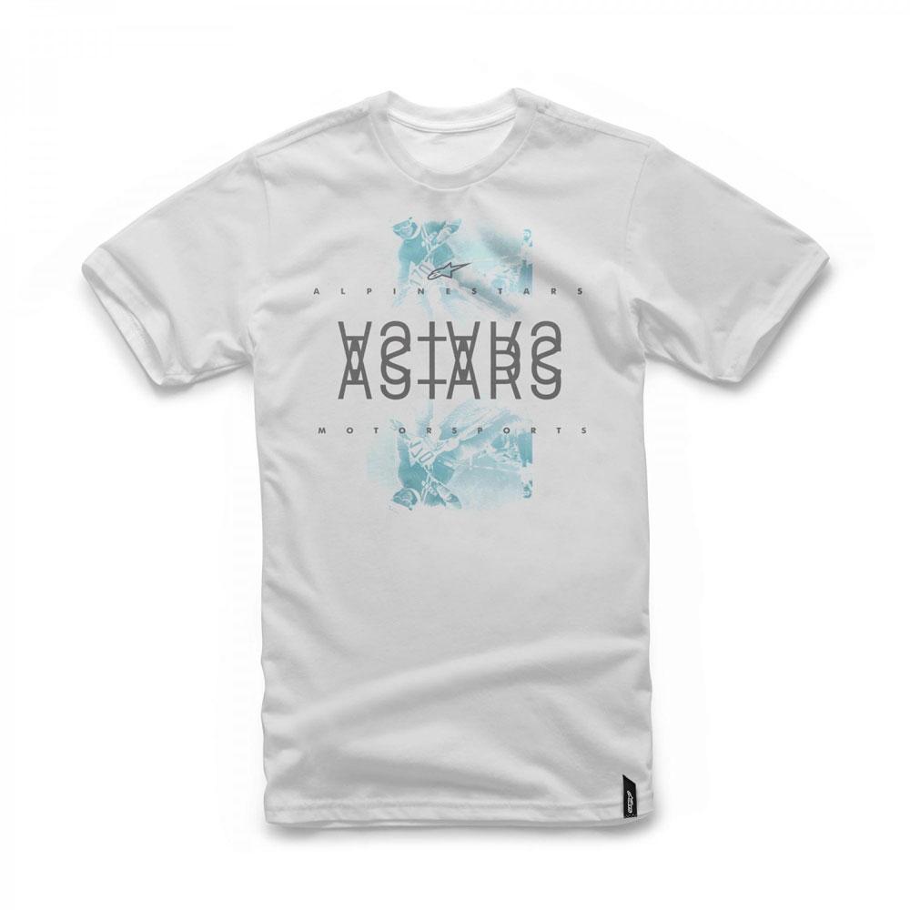 Camiseta Alpinestars Mirror White Lançamento  - Super Bike - Loja Oficial Alpinestars