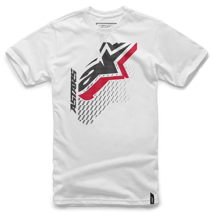 Camiseta Alpinestars Off Set White Lan�amento!!  - Super Bike - Loja Oficial Alpinestars