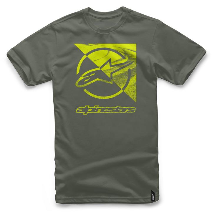 Camiseta Alpinestars Rift Tee (Green) Lançamento 2016  - Super Bike - Loja Oficial Alpinestars