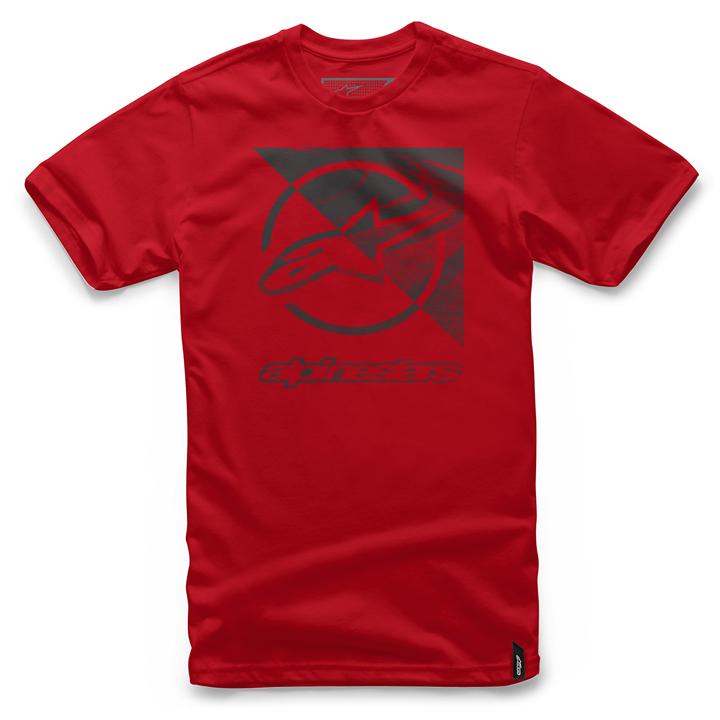 Camiseta Alpinestars Rift Tee (Red) Lançamento 2016  - Super Bike - Loja Oficial Alpinestars