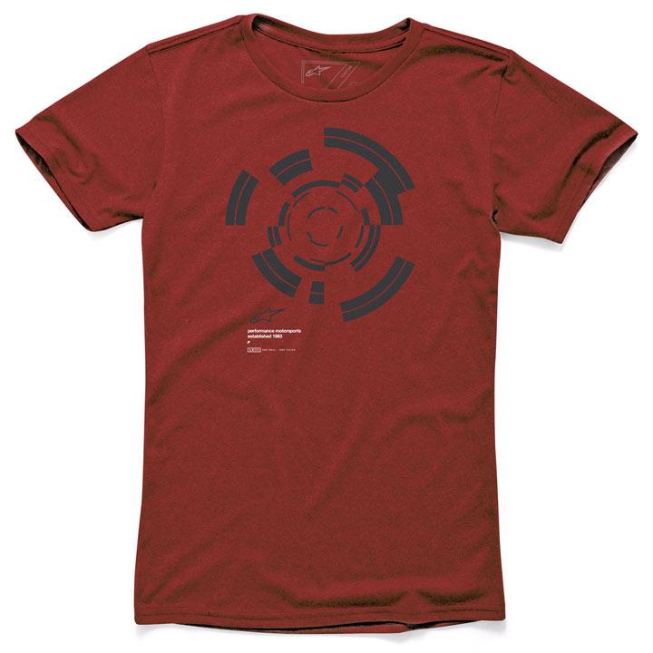 Camiseta Alpinestars Rotation Vermelha Lançamento!!  - Super Bike - Loja Oficial Alpinestars