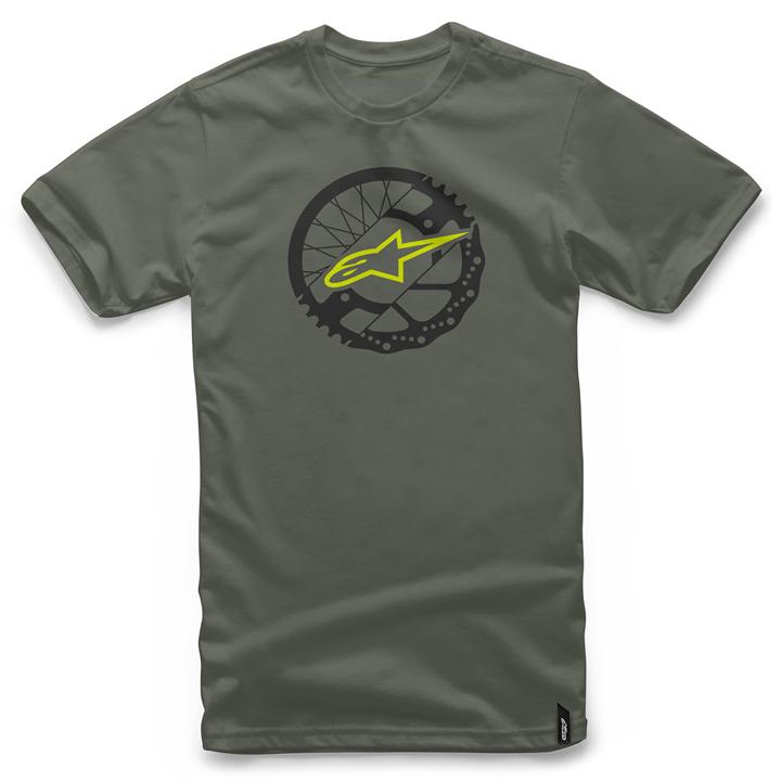 Camiseta Alpinestars Rotor Tee (Green) Lançamento 2016  - Super Bike - Loja Oficial Alpinestars