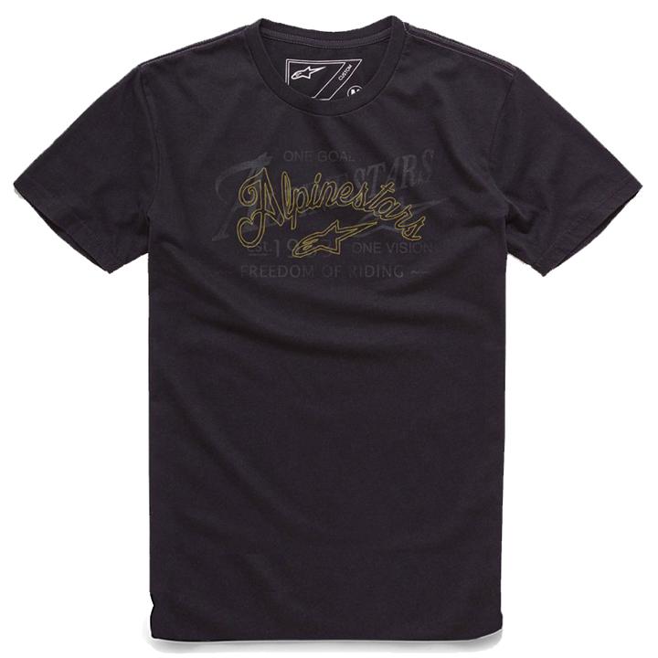 Camiseta Alpinestars Scratch Black Lançamento  - Super Bike - Loja Oficial Alpinestars