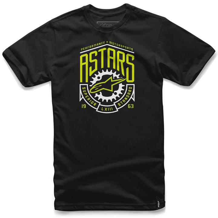 Camiseta Alpinestars Shed Tee Black Lançamento!!  - Super Bike - Loja Oficial Alpinestars