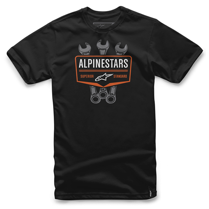 Camiseta Alpinestars Shift Tee (Black) Lan�amento 2016  - Super Bike - Loja Oficial Alpinestars
