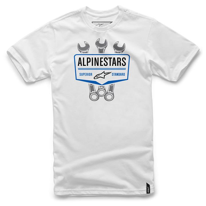 Camiseta Alpinestars Shift Tee (White) Lançamento 2016  - Super Bike - Loja Oficial Alpinestars