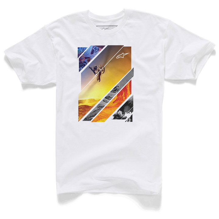 Camiseta Alpinestars Solaris Branca Lançamento!!  - Super Bike - Loja Oficial Alpinestars