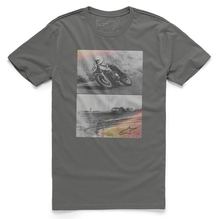 Camiseta Alpinestars Stack (Cinza) Lançamento 2016  - Super Bike - Loja Oficial Alpinestars