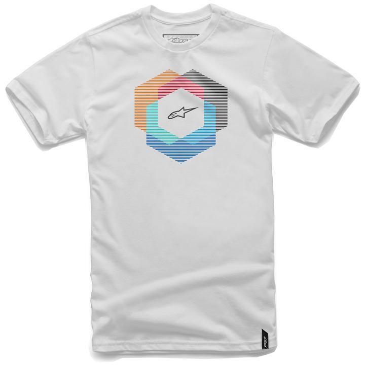 Camiseta Alpinestars Tesseract White Lançamento (Edição Limitada)  - Super Bike - Loja Oficial Alpinestars