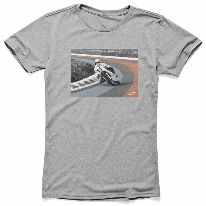 Camiseta Alpinestars Vector Cinza Lançamento  - Super Bike - Loja Oficial Alpinestars