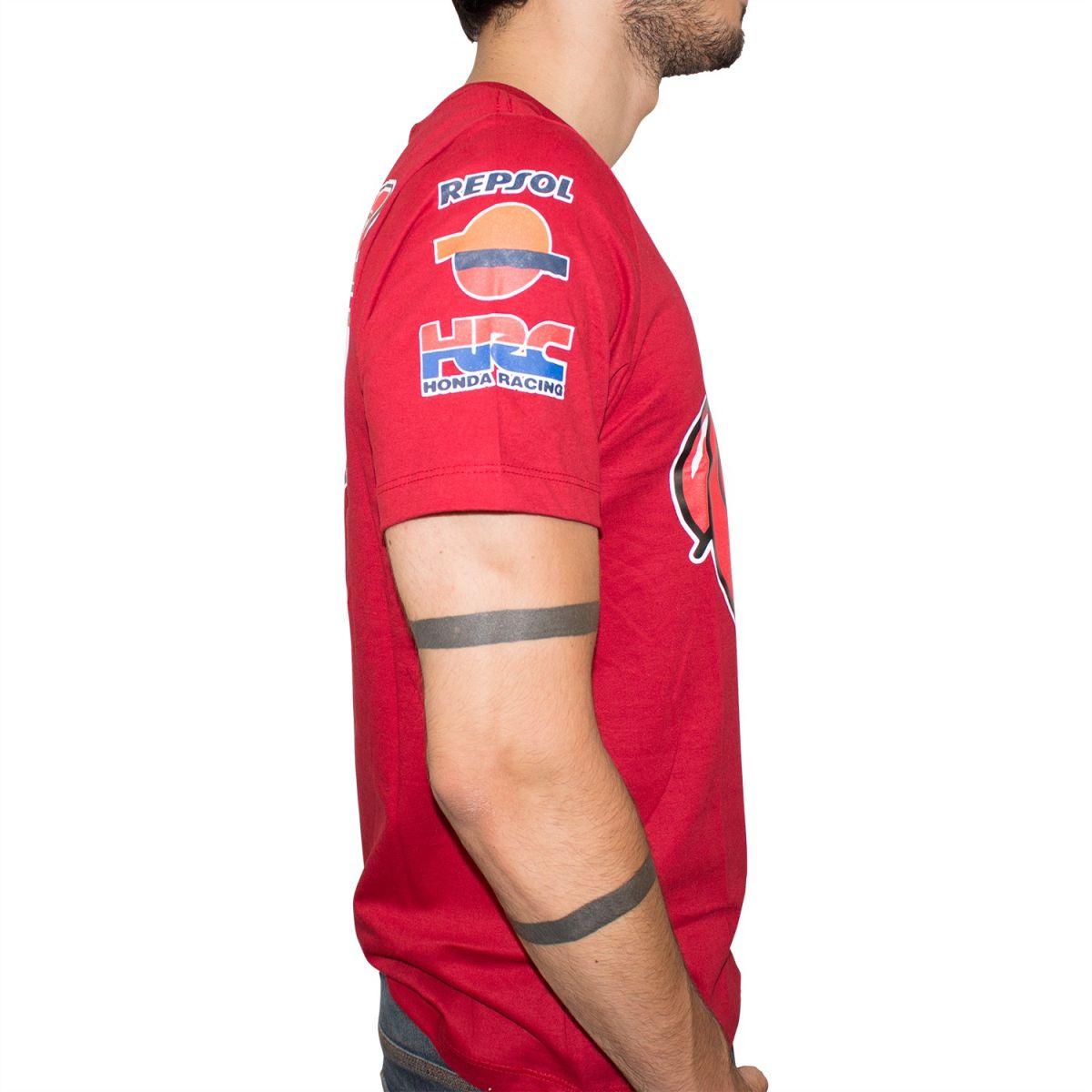 Camiseta Speed Race Marc Marquez Formiga (Vermelha) Lançamento!!  - Super Bike - Loja Oficial Alpinestars