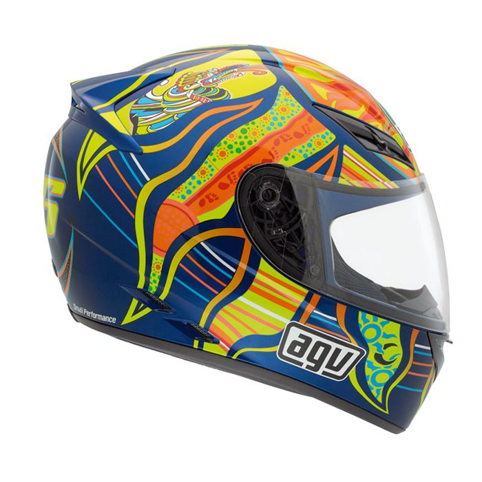 Capacete AGV K-3 Five Continents  - Super Bike - Loja Oficial Alpinestars