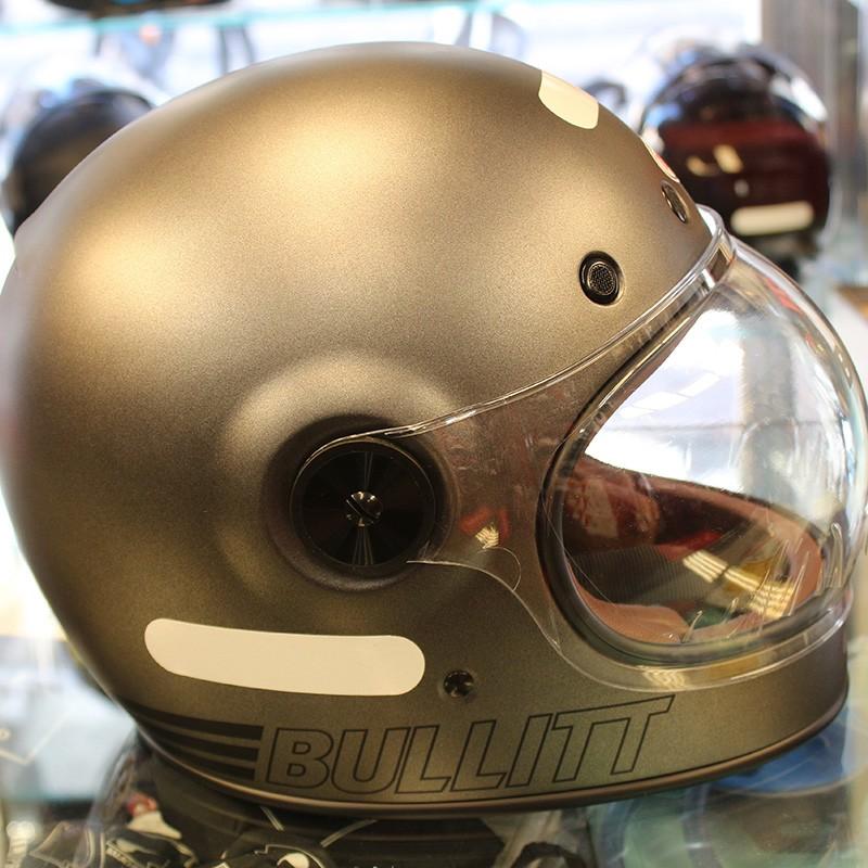 Capacete BELL Bullitt Retro Metallic Titanium