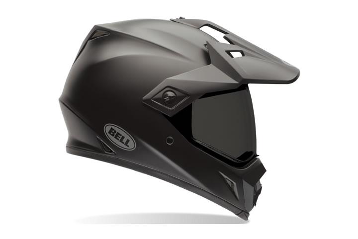 Capacete Bell MX-9 Adventure Solid Matte Black Lançamento!!  - Super Bike - Loja Oficial Alpinestars