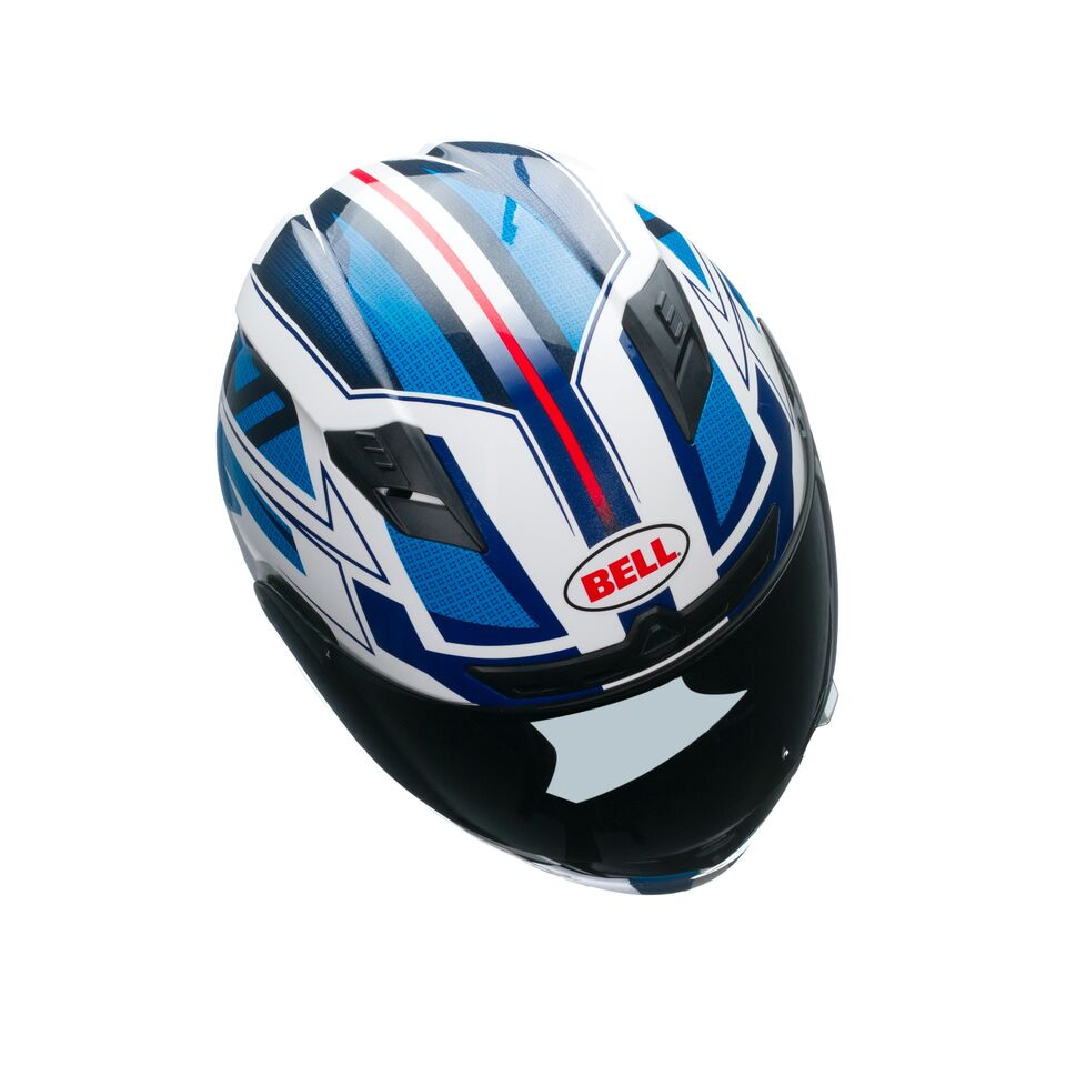 Capacete Bell Qualifier Clutch Blue - Super Bike - Loja Oficial Alpinestars