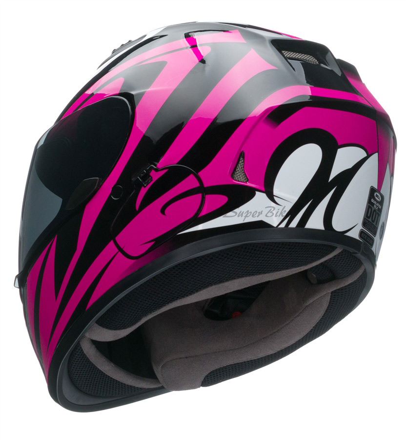 Capacete BELL Qualifier DLX Impulse Pink Lançamento!!  - Super Bike - Loja Oficial Alpinestars