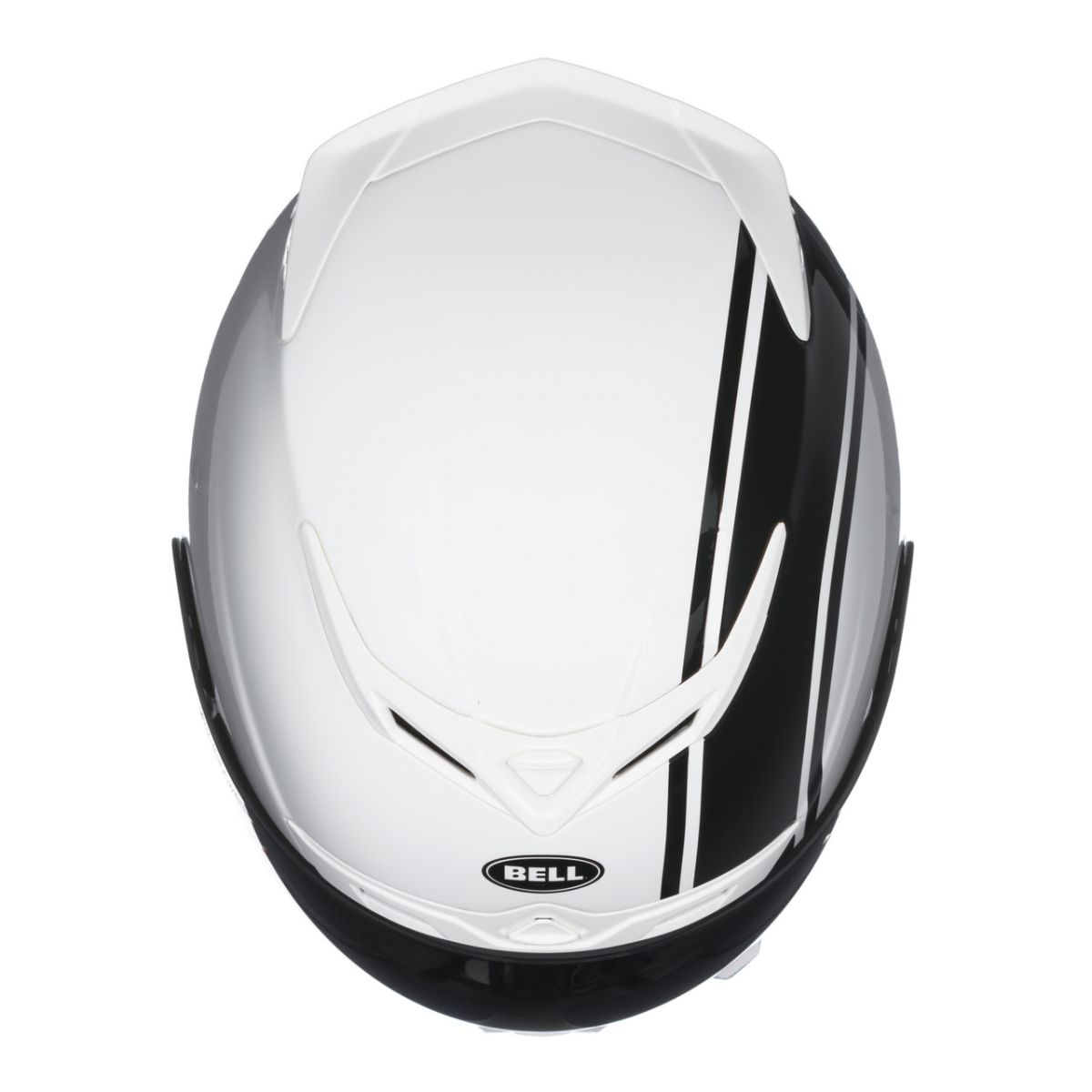 Capacete Bell RS-1 Linear Pearl White Bi-Composto (RS1) com Vídeo - Super Bike - Loja Oficial Alpinestars