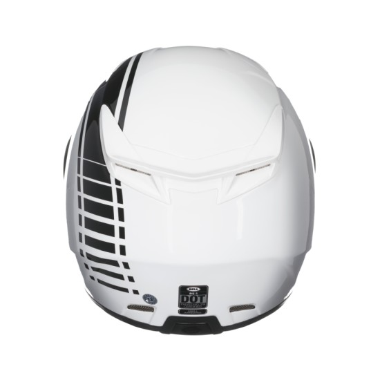 Capacete Bell RS-1 Linear Pearl White   - Super Bike - Loja Oficial Alpinestars