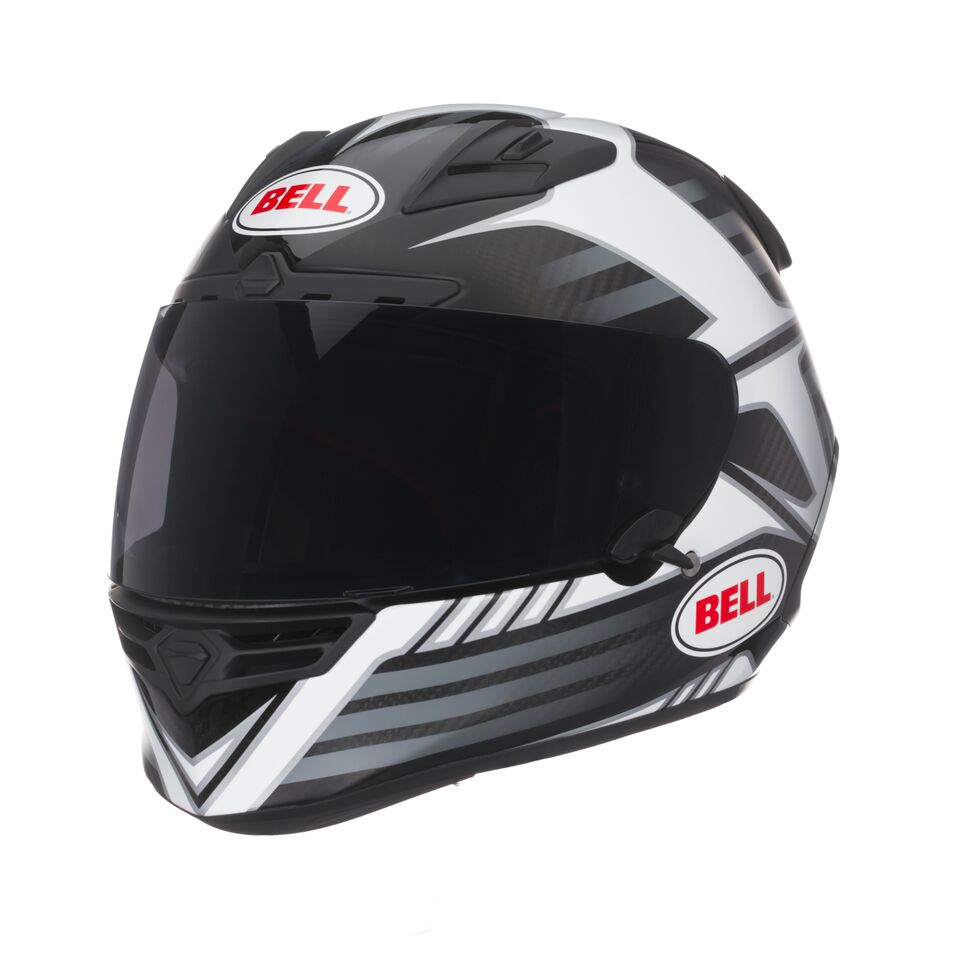Capacete Bell Star Carbon Pinned Black - Super Bike - Loja Oficial Alpinestars
