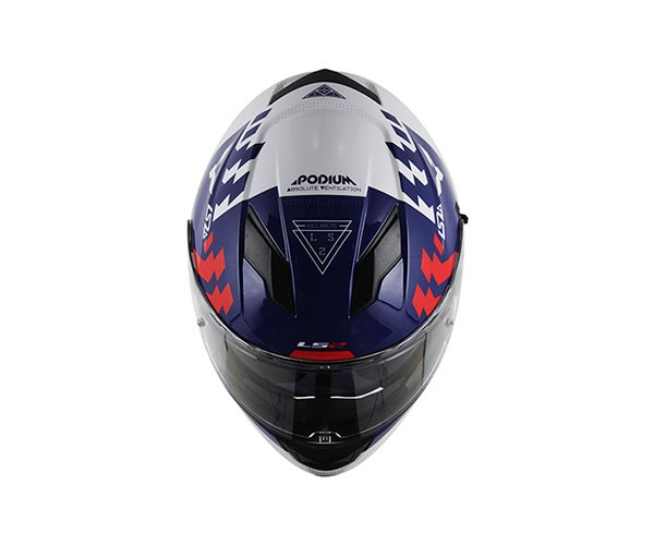 Capacete LS2 FF320 Stream Podium Blue  - Super Bike - Loja Oficial Alpinestars