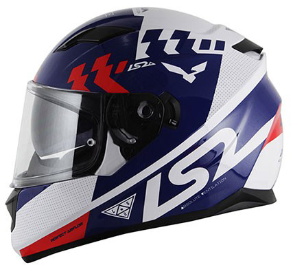 Capacete LS2 FF320 Stream Podium Blue Lan�amento!!  - Super Bike - Loja Oficial Alpinestars