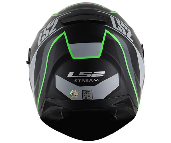 Capacete LS2 FF320 Stream Vantage ( Green) Lançamento!!  - Super Bike - Loja Oficial Alpinestars