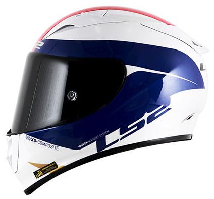 Capacete LS2 FF323 Arrow R Comet (Tri-composto) Tricolor Blue Lançamento!!  - Super Bike - Loja Oficial Alpinestars