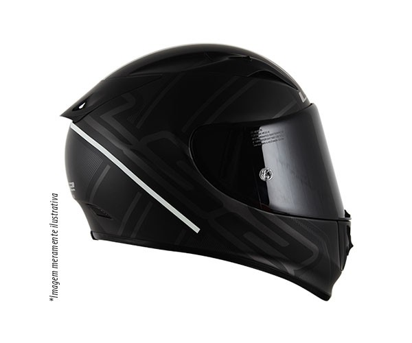 Capacete LS2 FF323 Arrow R Ion (Tri-composto) Black Lan�amento!! - Super Bike - Loja Oficial Alpinestars