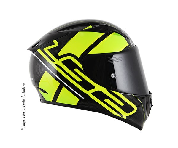 Capacete LS2 FF323 Arrow R Ion (Tri-composto) Yellow Lançamento!!  - Super Bike - Loja Oficial Alpinestars