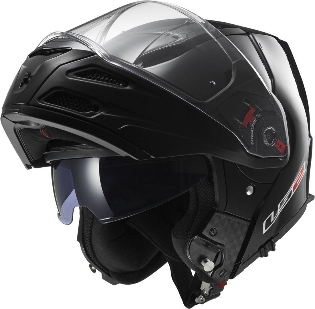Capacete LS2 FF324 Metro Mono Black Gloss Escamoteável!  - Super Bike - Loja Oficial Alpinestars