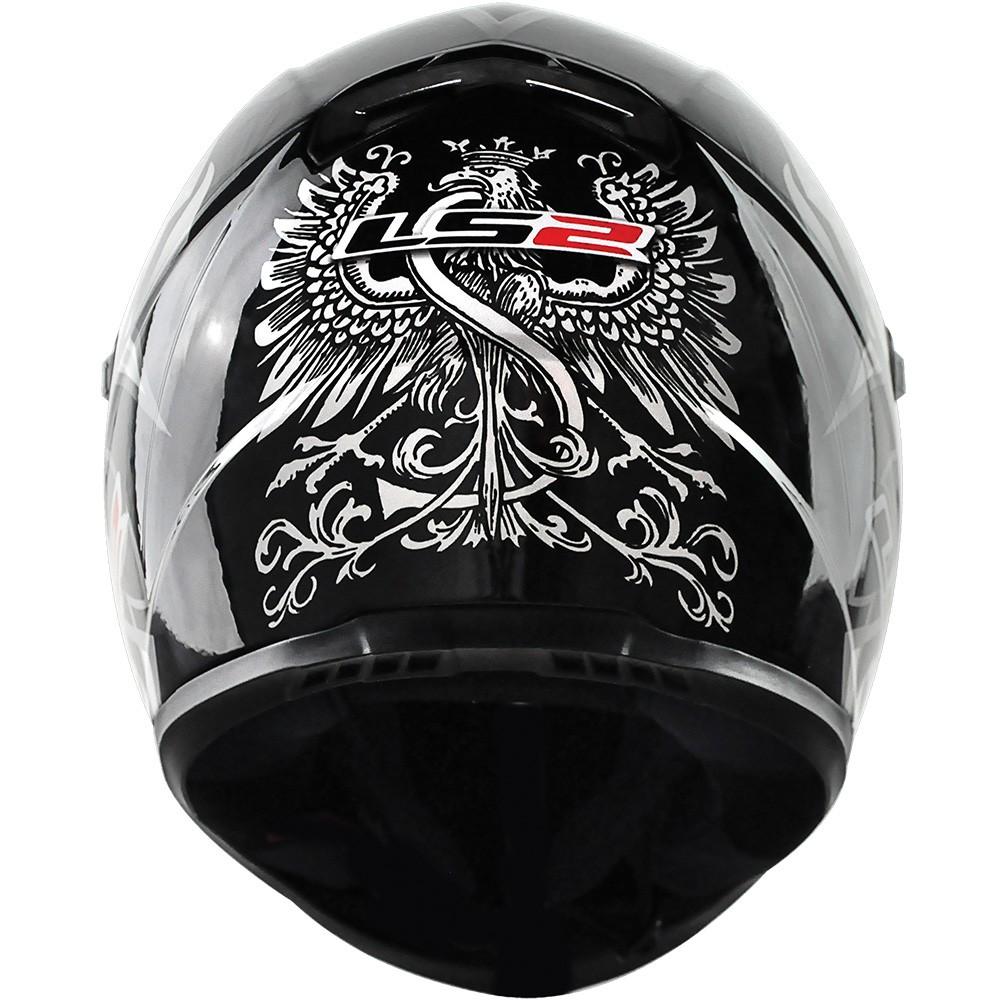 Capacete LS2 FF358 Black and White - Ganhe Boné LS2 !!  - Super Bike - Loja Oficial Alpinestars