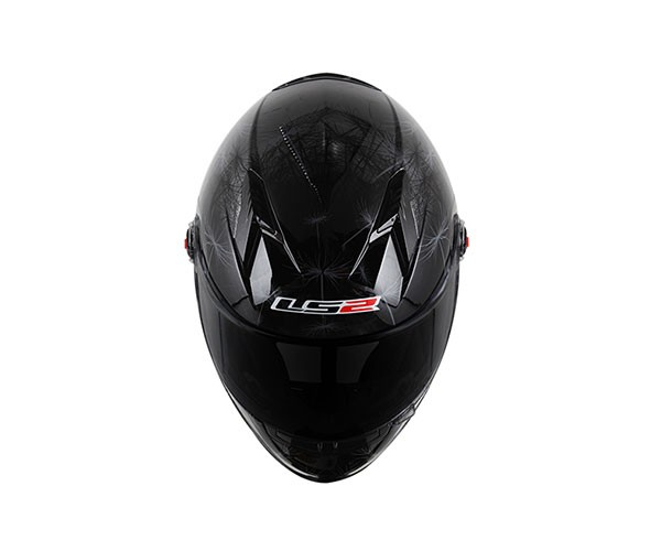 Capacete LS2 FF358 Breeze Black  - Super Bike - Loja Oficial Alpinestars