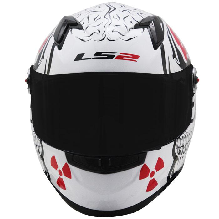 Capacete LS2 FF358 Crazy Skull White  - Super Bike - Loja Oficial Alpinestars