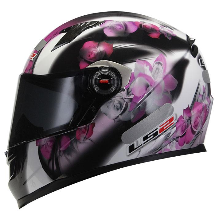 Capacete LS2 FF358 Flowers Pink  - Super Bike - Loja Oficial Alpinestars