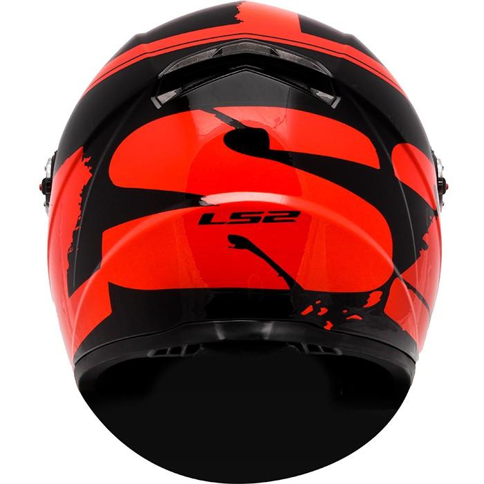 Capacete LS2 FF358 Fluo Gloss Red  - Super Bike - Loja Oficial Alpinestars