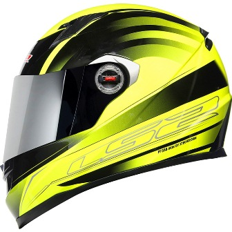 Capacete Ls2 FF358 Iron Gloss Yellow Banner01  - Super Bike - Loja Oficial Alpinestars