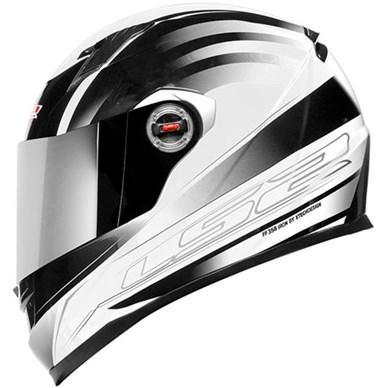 Capacete LS2 FF358 Iron White  - Super Bike - Loja Oficial Alpinestars