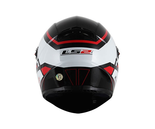 Capacete LS2 FF358 Mohican Red  - Super Bike - Loja Oficial Alpinestars