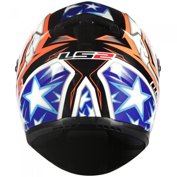 Capacete LS2 FF358 Racer Vermelho/Azul - Ganhe Boné LS2 !!  - Super Bike - Loja Oficial Alpinestars