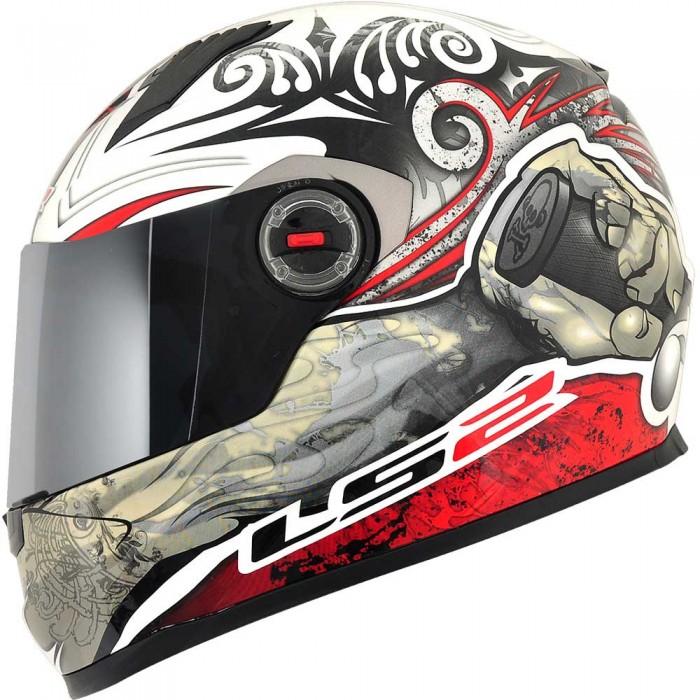 Capacete LS2 FF358 Rage Gloss Vermelho - Ganhe Boné LS2 !!  - Super Bike - Loja Oficial Alpinestars